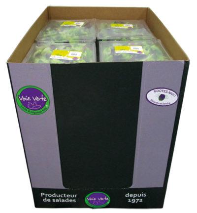 Box salades gamme RHF - Voie Verte